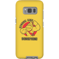 Nintendo Donkey Kong Strong Like Donkey Kong Phone Case - Samsung S8 - Tough Case - Matte - Samsung Gifts