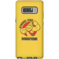 Nintendo Donkey Kong Strong Like Donkey Kong Phone Case - Samsung Note 8 - Tough Case - Matte - Samsung Gifts