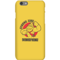 Nintendo Donkey Kong Strong Like Donkey Kong Phone Case - iPhone 6S - Snap Case - Gloss