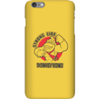 Nintendo Donkey Kong Strong Like Donkey Kong Phone Case - iPhone 6 Plus - Snap Case - Gloss