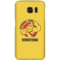 Nintendo Donkey Kong Strong Like Donkey Kong Phone Case - Samsung S6 - Snap Case - Gloss - Samsung Gifts