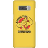 Funda móvil Nintendo Donkey Kong Strong Like Logo para iPhone y Android - Samsung Note 8 - Carcasa rígida - Brillante