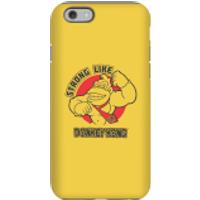 Funda móvil Nintendo Donkey Kong Strong Like Logo para iPhone y Android - iPhone 6S - Carcasa doble capa - Brillante