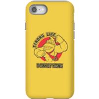 Nintendo Donkey Kong Strong Like Donkey Kong Phone Case - iPhone 8 - Tough Case - Gloss