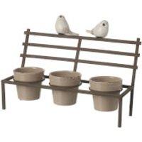 Parlane Birds Bench Planter - Bench Gifts