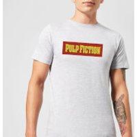 Pulp Fiction Logo Men's T-Shirt - Grey - XL - Grey