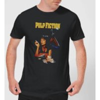 Pulp Fiction Poster Men's T-Shirt - Black - XXL - Black - Poster Gifts