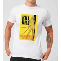 Kill Bill Poster Men's T-Shirt - White - XXL - White - Poster Gifts