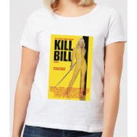 Kill Bill Poster Women's T-Shirt - White - XXL - White - Poster Gifts