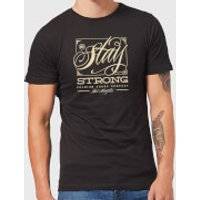 Stay Strong Deming Men's T-Shirt - Black - L - Black