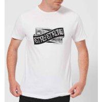 Stay Strong Ribbon Men's T-Shirt - White - XS - White