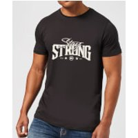 Stay Strong Logo Men's T-Shirt - Black - S - Black