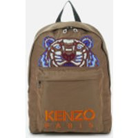 KENZO Men's Kanvas Tiger Backpack - Dark Camel