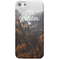 Not All Those Who Wander Are Lost Phone Case - iPhone X - Tough Case - Gloss