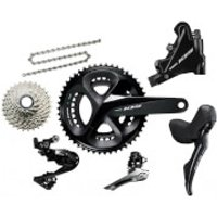 Shimano 105 R7020 11 Speed Groupset - Hydraulic Disc Brake - 175mm-11/32-39/53