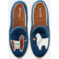 soludos-womens-velvet-llama-in-love-slipon-trainers-faded-blue-uk-4us-6-blue
