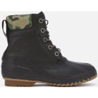 Sorel Mens Cheyanne II Premium Lace Up Boots - Black - UK 7 - Black