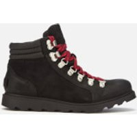 Sorel Sorel Women's Ainsley Conquest Hiker Style Boots - Black/Black - UK 3 - Black