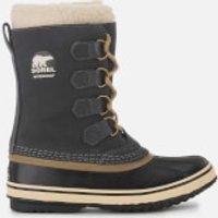 Sorel Women's 1964 Pac 2 Hiker Style Boots - Coal - UK 4