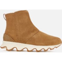 Sorel Women's Kinetic Short Boots - Camel Brown/Natural - UK 6