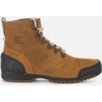 Sorel Men's Ankeny Mid Hiker Style Boots - Elk Black - UK 7 - Tan/Brown