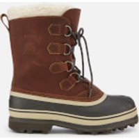 Sorel Mens Caribou Wl Lace Up Boots - Tobacco - UK 8 - Tan/Brown