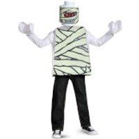 LEGO Iconic Kids Mummy Classic Halloween Fancy Dress - Purple - M/7-8 Years - Púrpura