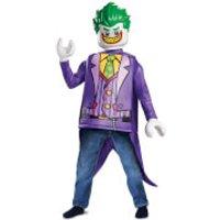 LEGO Batman Movie Kids Joker Classic Fancy Dress - Purple - S/4-6 Years - Púrpura