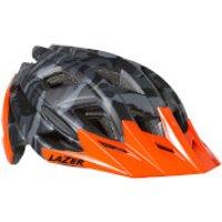 Lazer Ultrax Helmet - L - Matt Black Camo/Flash Orange