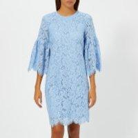 Ganni Women's Jerome Lace Dress - Serenity Blue - EU 34/UK 6 - Blue