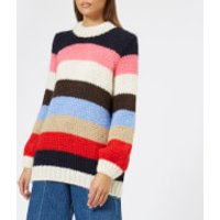 Ganni Women's The Julliard Mohair Jumper - Multi - M - Multi