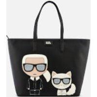 Karl Lagerfeld Women's K/Ikonik Shopper Bag - Black