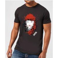 Marvel Knights Elektra Face Of Death Mens T-Shirt - Black - 5XL - Black