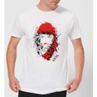 Marvel Knights Elektra Face Of Death Mens T-Shirt - White - XL - White