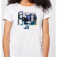 Marvel Knights Jessica Jones Comic Panels Womens T-Shirt - White - XL - White