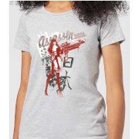 Marvel Knights Elektra Assassin Womens T-Shirt - Grey - XS - Grey
