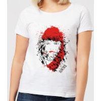 Marvel Knights Elektra Face Of Death Women's T-Shirt - White - XXL - White