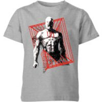 Marvel Knights Daredevil Cage Kids T-Shirt - Grey - 7-8 Years - Grey