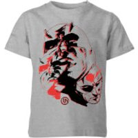 Marvel Knights Daredevil Layered Faces Kids T-Shirt - Grey - 7-8 Years - Grey