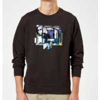 Marvel Knights Jessica Jones Comic Panels Sweatshirt - Black - L - Black