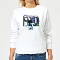 Marvel Knights Jessica Jones Comic Panels Women's Sweatshirt - White - XXL - White - Comic Gifts