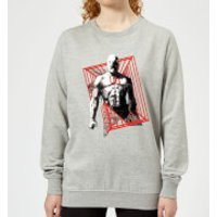 Marvel Knights Daredevil Cage Women's Sweatshirt - Grey - S - Grey