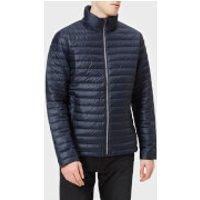 Calvin Klein Jeans Mens Light Down Packable Jacket - Night Sky - M - Blue