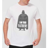 Star Wars Darth Vader I Am Your Father Pose Men's T-Shirt - White - M - White