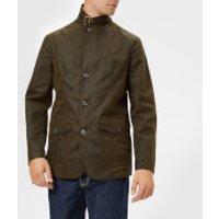 Barbour Heritage Men's Lutx Wax Jacket - Olive - XL - Green