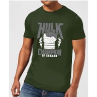 Marvel Thor Ragnarok Hulk Champion Men's T-Shirt - Forest Green - XXL - Forest Green