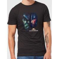 Marvel Thor Ragnarok Hulk Split Face Men's T-Shirt - Black - XXL - Black - Thor Gifts
