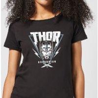 Marvel Thor Ragnarok Asgardian Triangle Women's T-Shirt - Black - XXL - Black - Thor Gifts