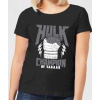 Marvel Thor Ragnarok Hulk Champion Women's T-Shirt - Black - XXL - Black - Thor Gifts