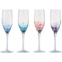 Anton Studio Designs Speckle Champagne Flute (Set of 4) - Kitchen Gifts
